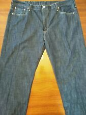 Levi's men's blue jeans 569 42 x 30 dark wash EUC