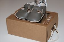 NEXT SOFT MINK LEATHER T-BAR PRE-WALKER PRAM SHOES BOOTIES BOYS 0-3 MONTHS - NEW