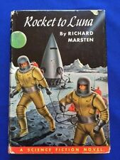 ROCKET TO LUNA - FIRST EDITION SIGNED BY RICHARD MARSTON A.K.A. EVAN HUNTER