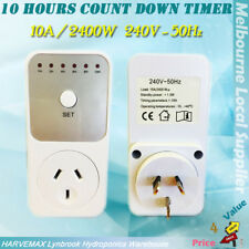 AU Plug 10A 240V 2400W Countdown Timer For Mobile Phone Charger Heater Appliance