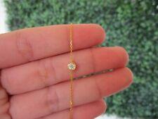 .15 Carat Diamond Yellow Gold Donut Bracelet 18k B41 sep