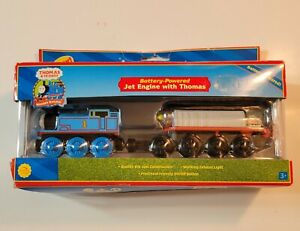 2004 Battery Powered Jet Engine w/ Thomas & Friends Wooden Railway PreOwned