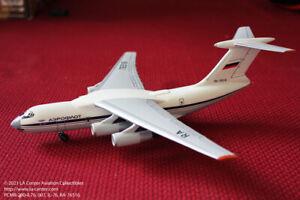 PCRM Model Aeroflot Ilyushin IL-76 in Old Color Resin Model 1:200