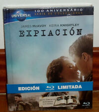 EXPIACION-ATONEMENT-DIGIBOOK BLU-RAY+LIBRO-NUEVO-NEW-PRECINTADO-SEALED-SUSPENSE