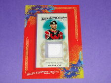 2010 Allen & Ginter BRIAN McCANN Game Used Jersey SP Atlanta Braves - NY Yankees