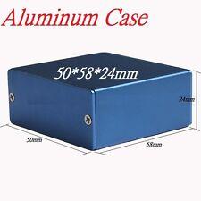 Professional Enclousure Aluminum Case Box DIY Project Device Holder 50*58*24mm