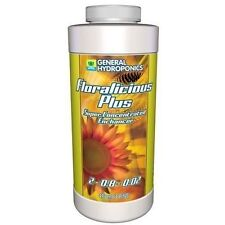 General Hydroponics Floralicious Plus 1 Pint 16oz - microbe root grow nutrient