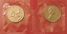 Proof Like 1974 Canada 25 Cents Sealed in Cello