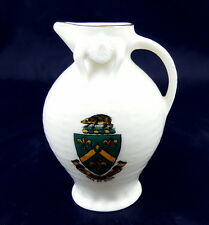 Vintage Goss Crested China Ancient Ewer, Man Of Ross Crest