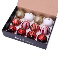 Multi Color 12pcs Christmas Tree Decoration Ball Christmas Decor Accessories