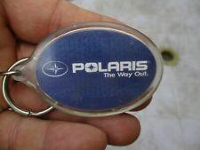 Vintage Polaris Snowmobile Key Chain Fob