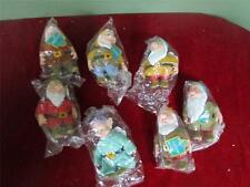 Vintage Disney'S Snow White And Seven Dwarfs With Tags All 7 Dwarfs By Applause