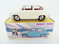DINKY ATLAS/NOREV 520 'FIAT 600D' WHITE. MIB/BOXED.