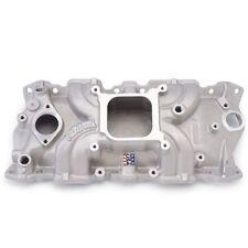 Edelbrock # 5001 SBC 305 350 Chevy Torker II Aluminum Intake Manifold
