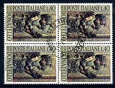 ITALIA REP. - 1966 - 5º centenario della morte di Donatello - 40 L. - Angeli can