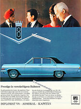 Opel-Diplomat-1967-Reklame-Werbung-genuine Advertising-nl-Versandhandel