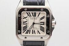 Cartier Santos 100 XL Automatic Stainless Steel Watch W20073X8