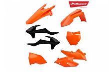 Kit Plásticos Polisport KTM EXC/EXCF/XCW/xcfw OEM Naranja Negro 90707 Enduro