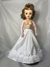 "NEW White Wristlet Gloves wLace Trim for 18/"" 20/"" Miss Revlon Vintage Dolls"
