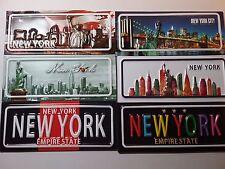 "A set of 12 New York City Fridge magnets 5""x2"""