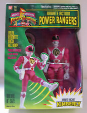"Power Rangers - Kimberly - 8"" Karate Kickin - w/Logo Badge"