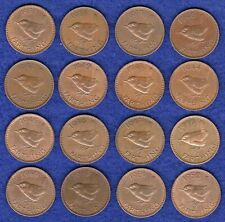 More details for gb, farthings, george vi, 1937 to 1952, complete date run, 16 coins (ref. t4073)
