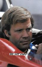 Fotografía 9x6 Mark Donohue F1 Penske retrato 1975