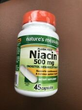Niacin 500mg Flush Free Heart Health Promotes Energy Metabolism 032251265242