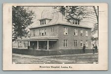 Louisa KY Riverview Hospital KENTUCKY—Rare Antique PC Lawrence County 1910