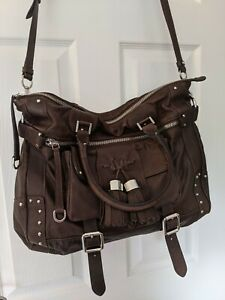 Luella Large Brown Leather Bag