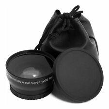 52MM 0.45 x Wide Angle Macro Lens for Nikon D3200 D3100 D5200 D5100 ZV