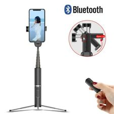 Wireless Bluetooth Selfie Stick Shutter Remote Extendable Tripod for Cellphones