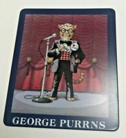 NOS GEORGE PURRNS - CAT HALL OF FAME COLLECTIBLE FIGURE Magnet