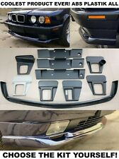Fit 87-96 BMW E34 Front Spoiler Lip M tech Splitter Lippe diffuser + Your choice
