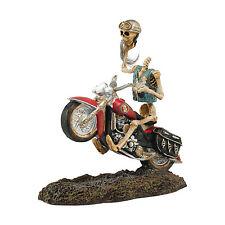 Dept 56 Halloween Snow Village Headless Harley Davidson Rider 4044887 NEW NIB