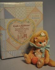 Calico Kittens: Tea & You Hit The Spot - 625981 - Kitten With Tea Set