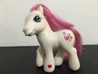 MY LITTLE PONY G3 STRAWBERRY SWIRL MLP HASBRO 2002 Glitter Celebration White