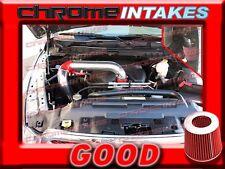 RED 09 10 11 12 13 14 DODGE RAM 1500 2500 3500 5.7 5.7L V8 HEMI COLD AIR INTAKE