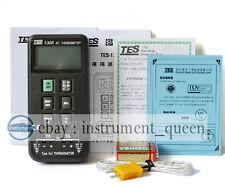 TES TES1306 TES-1306 K/J Type Thermometer