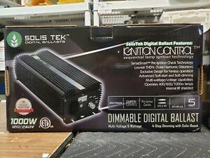 SolisTek Dimmable Digital 1000W Ballast