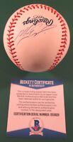 Nomar Garciaparra Signed Baseball Red Sox Cubs Dodgers A's Beckett Cert