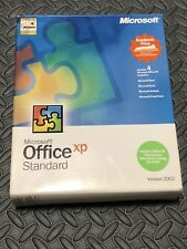 Microsoft Office XP Standard Version 2002 Word Excel Outlook PowerPoint Box Set
