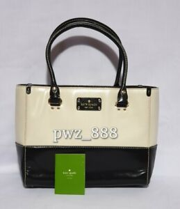 KATE SPADE Structured Leather Tote Bag