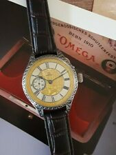 OMEGA pocket watch movement - SILVER CASE