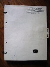 John Deere 55 Combine Parts Catalog Manual