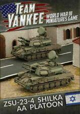 Flames of War TIBX06 Team Yankee Israel  ZSU-23-Shilka AA Platoon