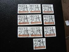 SUEDE - timbre yvert et tellier n° 2027 x10 obl (A29) stamp sweden (A)