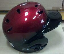 Batting Helmet NOCSAE Cert. Baseball/Softball NEW RED & BLACK