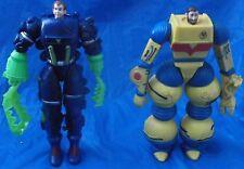 The Inhumanoids Action Figure Lot 1986 Hasbro Liquidator & Dr. Derek Bright VTG