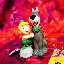 "Jetsons ""Elroy & Astro"" Cartoon salt & pepper shaker retied 3.5"" tall"